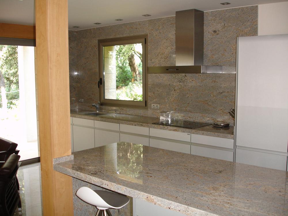 Piedras y Mármoles Almansa - Cocina Granito